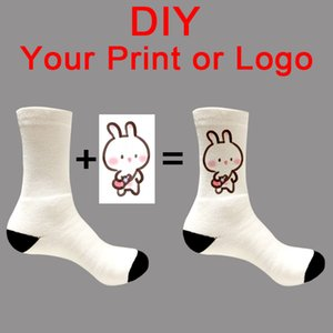 Customized Print Socks Women's Men's DIY Photo Brand Quanlitity Cotton For Spring summer autumn winter