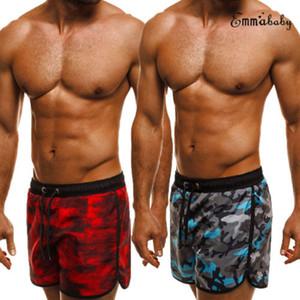 Jogger Shorts Men Camouflage fresca de verão Homens Cotton Casual roupas confortáveis Marca Camo calções homens carga Shorts