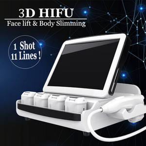 8 cartucce 3D HIFU macchina High Intensity Focused Ultrasound Facelift HIFU tecnologia 3D Hifu Lipo dimagrante