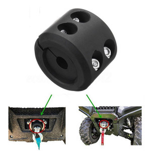 Vehicle Winch Rope Durable For ATV UTV Hook Rubber Stopper Line Saver
