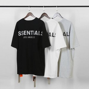 Fear of God Fog Essentials Men T-Shirts Summer T Shirt Men letter printing Short Sleeve Casual Cotton Tops Tees