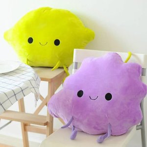 Ctue fruit lemon grape pillow cushion sofa pillows kids bedroom decor plush toy children gift