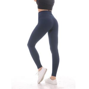 NWT 2019 Eshtanga Kadınlar Spor high rise tayt süper kalite Yüksek Elastik Bel Katı 4-way Streç Sıska Pantolon Boyutu XXS-XL # 1032659