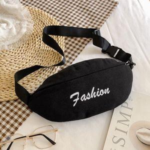 Disco chest packages female autumn new Korean wild slash pocket ins ultra small fire canvas messenger bag girl purse