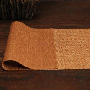 Qualité chaud Bamboo HIgh Thé Mat Isolation Tapis thé Plateaux Bambou Rideau tronçonner Thé napperon Bambou Teapot Mat