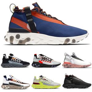 Nike React LW WR Mid ISPA Мужчины Кроссовки Ghost Aqua Антрацитовый Синий Оранжевый Пистолет Курение Женщины Мужские кроссовки Спортивные кроссовки 36-45