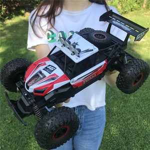Flytec 6029 1 16 2.4G Remote Control RWD RC Racing Car High Speed Electric Off-Road Vehicle RTR Model For Children Toys Y200317