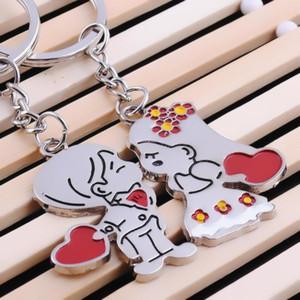 Presente de casamento convidado do aniversário Souvenirs namorada namorado amantes da moda partido de Key Anel valentine dama de honra Presente pequeno