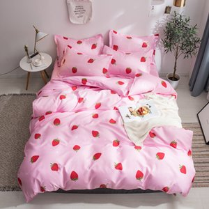 Bedding Set Twin Full Queen Size Single Bed Duvet Cover Sets Print Bed Linen Quilt Covers XF745-6