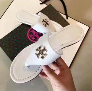 Frauen der Männer DesignerLuxury Sandalen Schieben Sommer Mode Schuhe Strand-Schuhe Schwarze Schuhe Slipper Flip Flop Box 2021906Q
