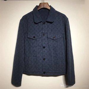 Luxo Mens Casacos Mulheres Marca jaqueta de inverno da marca Jackets desigenr denim marca jaquetas Moda exterior B103594L Windbreaker casaco calças de brim