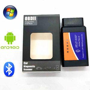 Real ELM 327 V 1.5 ELM327 Bluetooth v1.5 OBD2 Car Android Scanner Automotivo OBD 2 Car Ferramenta de diagnóstico OBDII Scaner Automotriz