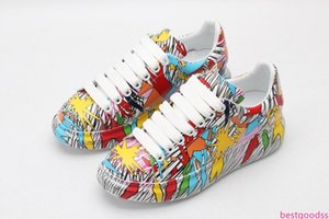 2019 2020 best quality mens womens chaussures platform heel casual sneakers  designers shoes Leather Solid Colors Dress Shoes