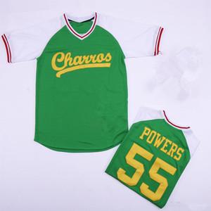 Personalizado Atlanta Kenny Powers Eastbound e Down Myrtle Beach Mermen Retro Baseball Jerseys TAMANHO S-4XL