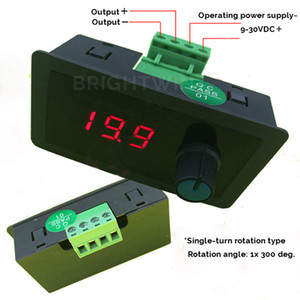 2 Units 4-20mA Signal Generator 12V 24VDC Operating Power Supply Current Source Panel Meter 4-20mA Module