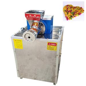 220V multifuncional máquina pequeña merienda decisiones comerciales fideos máquina de pasta extrusora hueco macarrones Pasta Pellet Haciendo máquina de hacer