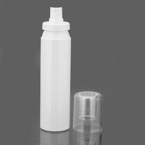 PET frasco de spray Encaixe baioneta Garrafa fino da névoa Atomizador Branco garrafa de plástico da bomba 50ml 60ml 80ml