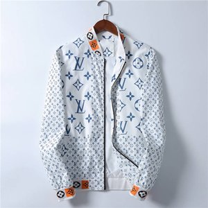 2020 high-quality Designer Fashion Men's medusa Jacket Windbreaker Long Sleeve Men's Jacket Zipper Animal Letter Pattern Casual Men's M-3XL
