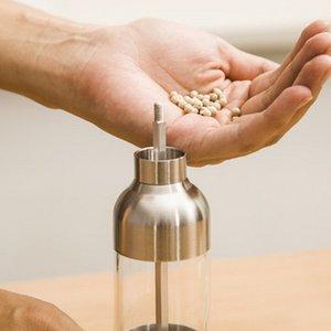 Manual de aço inoxidável 304 Rudder Forma de sal tempero Moinho Spice Sauce 1pc Faucet Grinder Ferramenta de cozinha para casa Restaurante