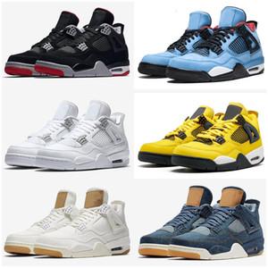 New Bred Jumpman 4 4s Men Kids Basketball Shoes Tattoo Singles Day Raptors Pure Money Hot Punch Mens Trainer Sport Sneaker