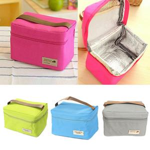 Обед Сумка Женщины Мужчины теплоизолирующего Lunch Box Tote Портативный Пикник Coolbag