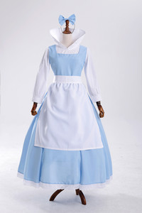 Blue dress maid costume cosplay