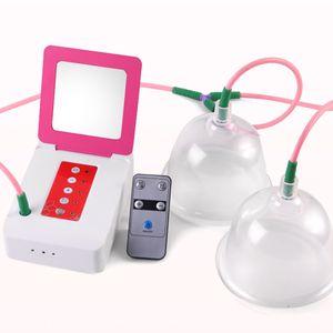미용실 진공 유방 젖꼭지 케어 DHL 무료 더블 컵 유방 빠는 기계 젖꼭지 마사지 장비 유방 확대 장비