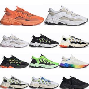 Adidas Ozweego adiPRENE shoes Новая Мода Жирный Оранжевый Ozweego Для Мужчин Женщин Повседневная Обувь Неоновый Зеленый Солнечный Желтый Тона Хэллоуина Ядро Черный Спортивные