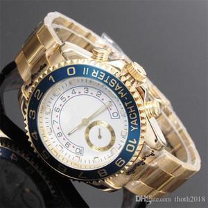 Date automatique de diamant de luxe calendrier un bracelet en or et en argent de la mode face de l'horloge mouvement ceinture en acier allié quartz mâle cadeaux homme