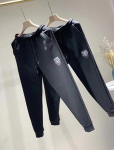 pantalones de tigre KenZ0 Calle Patinetas Tide pantalones Pareja bolsillo delantero de ropa de trabajo, pantalones de chándal Sanitarias nuevo estilo