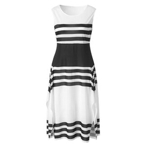 dresses woman party night gothic casual dress white casual polyester striped clothes elegant 20120 girls pink plus size xl