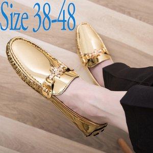 Charming2019 Xiadoudou Tide Loafers Shoes Men Male Will Code Doug Shoe 46 New