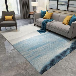 Nordic Abstract Tinte Malerei Teppich für Wohnzimmer Schlafzimmer Anti-Rutsch Große Teppichboden Matte Küche Teppiche Bereich Teppiche