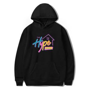 The Hype Casa cappuccio Charli D'Amelio felpate Uomini Donne Stampa Addison Rae hoodies Pullover unisex Harajuku Tuta Y200706