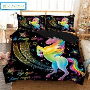 BEST. WENSD 111 Amantes Lobos Lobo Conjunto de Cama Gêmeo Completa Quee king Bed Set 3 pcs Capa de edredão + fronha de Têxteis Para Casa-não roupas de cama