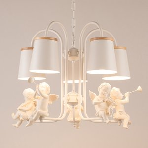 Angel lamp sitting room droplight is contemporary and contracted style lamp is used at home creative individual character lamp