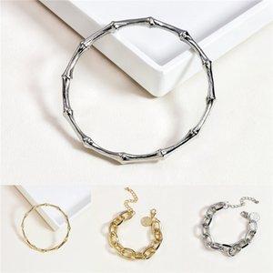 Drop Shipping Natural Stones Lapis Charm 5 Strands Wrap Bracelets Handmade Boho Bracelet Women Leather Bracelet Wholesale J190625#619