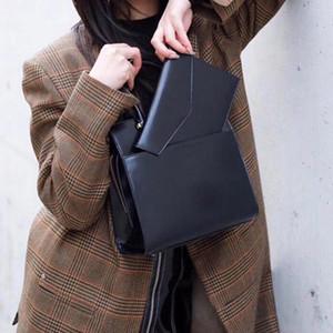 Новая сумка из воловьей кожи, Открытый карман с отстегивающейся магнитной сумкой-конвертом с пряжкой, Сумка с буквами 23 см, Кожаная сумка-конверт