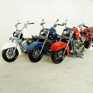 SM Fer Métal classique de moto jouet modèle, style rétro main ornement, pour Noël Cadeaux d'anniversaire d'enfant, collecte, décoration de la maison, SMT5125