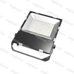 Extérieur Led Ultrathin 100W PROJECTEURS récent AC85-265V étanche IP65 Super Bright 3000-6500K Led Eclairage de jardin Lampe DHL