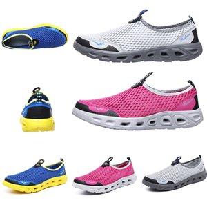 2020 Moda Kadın erkek çalıştırmak ayakkabı Yaz Nefes Wading ayakkabı spor eğitici gammaz Ev yapımı marka büyüklüğü 39-44 Slip On Çin Malı