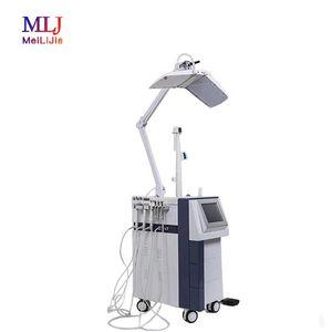 2019 6 en 1 PDT LED máquina cáscara de chorro de dermoabrasión sistema para máquina de belleza eliminación de arrugas