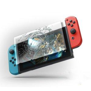 50PCS 0.2MM Ultra Clear 9H Protecteur d'écran pour Nintendo Switch en verre trempé sans emballage de détail