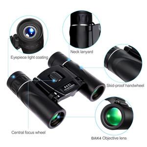 USCAMEL 8x21 Compact Zoom Jumelles longue portée 1000m pliant HD Mini puissant télescope BAK4 FMC Optique Chasse Sport Camping