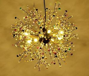 Dia80 60cm Modern Personalized Round Ball Pendant Light American Dandelion Fashion Led Decoration Free shipping