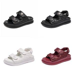 Yeni Kadın Sandalet Yaz Rahat Sahte Süet Düz Comfortablesize 34-40 Casual Ayakkabı Zapatos Mujer Boyut Ayakkabı 34-40 Yp-87 CO02 # 701