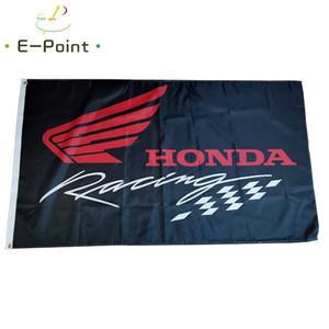 Япония Honda Racing Flag 3 * 5 футов (90см * 150см) Полиэстер флаг Баннер украшение летающего флаг сада дома Праздничные подарки