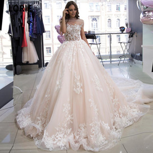 2021 Vintage Full Lace Wedding Dresses A Line off Shoulder Appliques Boho Princess Bridal Gowns Puffy Designer Wedding Gowns Plus size