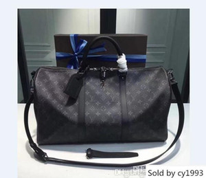 Women Shoulder Equisite 45cm Wide Outdoor Cacual Bags Luxury Metal Hardware Genuine Cow Leather Big Volume