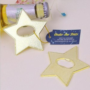 Under The Star Gold Star Beer Bottle Opener Party Souvenir Wedding Favors Gift And Giveaways For Guests ZA4277